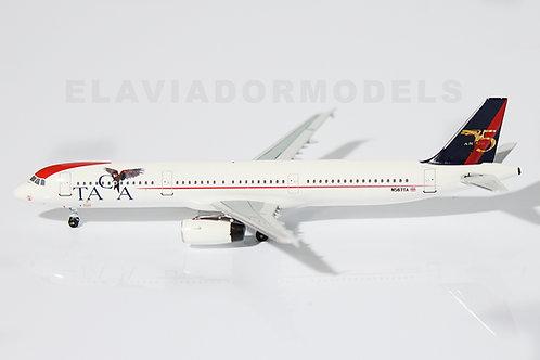 TACA (75 years) Airbus A321 / N567TA / EAV-400-N567TA / 1:400