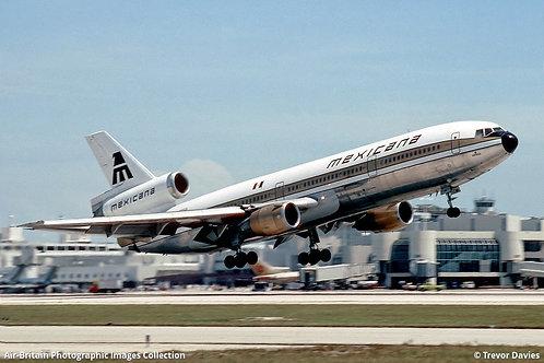 Mexicana McDonnell Douglas DC-10-10 / IFDC10MX0821P / N1003L / 1:200