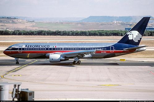 Mexicana - Boeing B 767-300  / XA-MXB / EAVMXB / 1:200