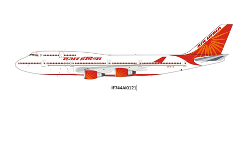 Air India Boeing B 747-400 / VT-EVB / IF744AI0121 / 1:200