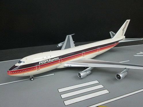 People Express Boeing 747-100 /  N606PE  / JF-747-1-004 / 1:200