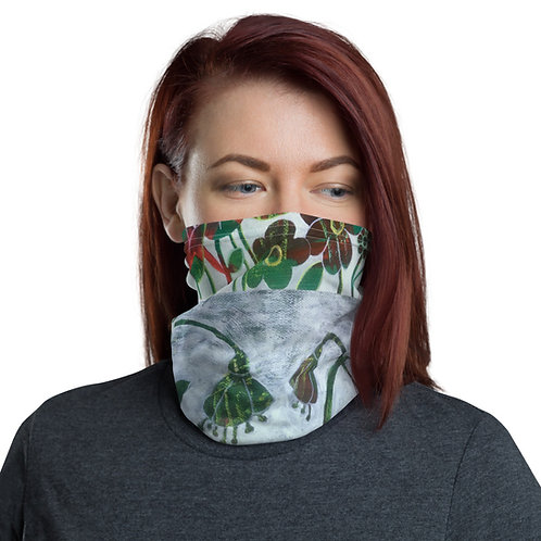 All-Over Print Neck Gaiter Green
