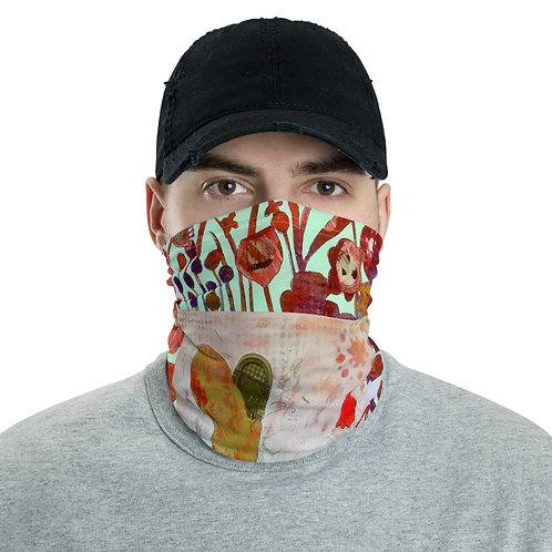 All-Over Print Neck Gaiter - Red