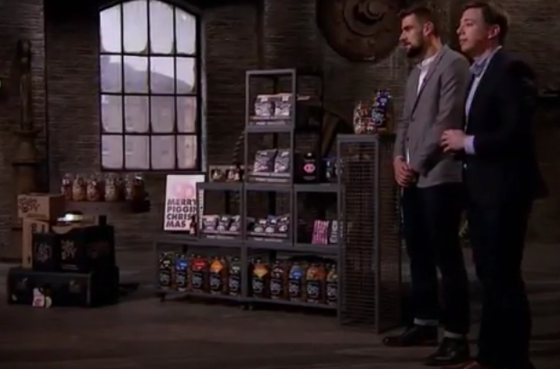 Woah, we just appeared on Dragons Den