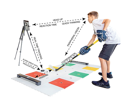 MY PUZZLE SYSTEMS - Professional Hockey Dryland Training Flooring Kit