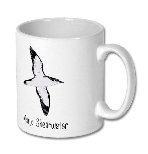 Scilly Pelagics Manx Shearwater mug