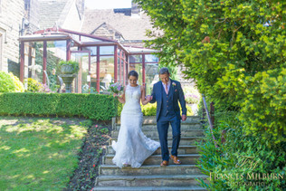 East Lodge Wedding Photography, Matlock