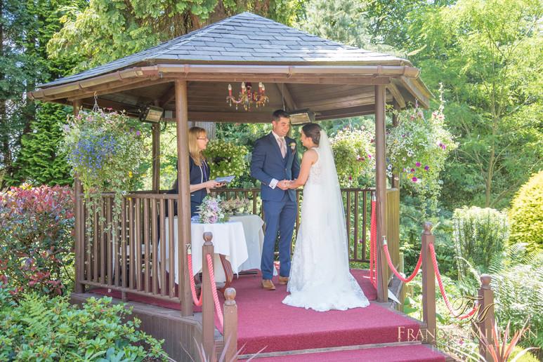 East Lodge Wedding Photography, Matlock