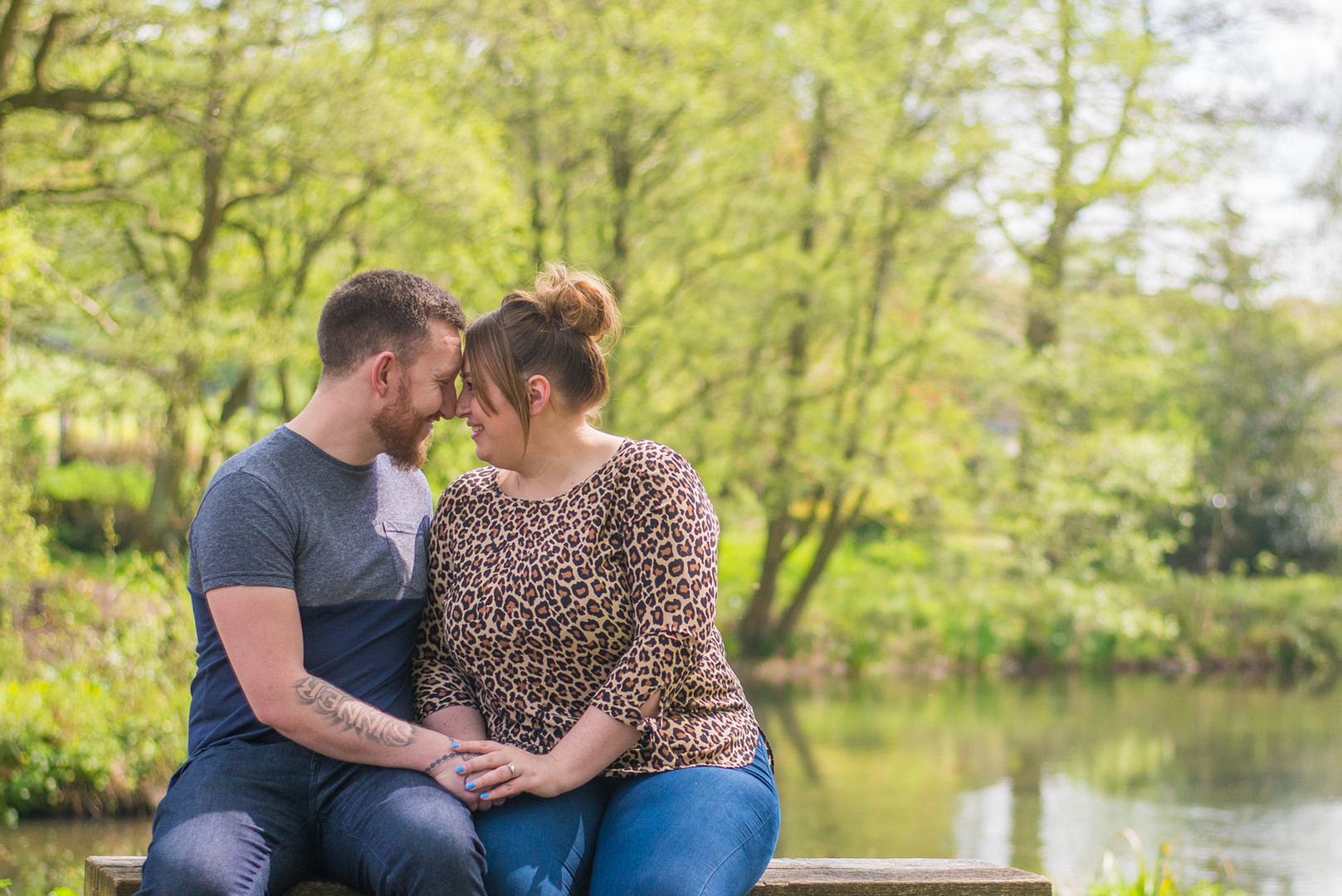 Engagement and Pre wedding shoot Derbyshire