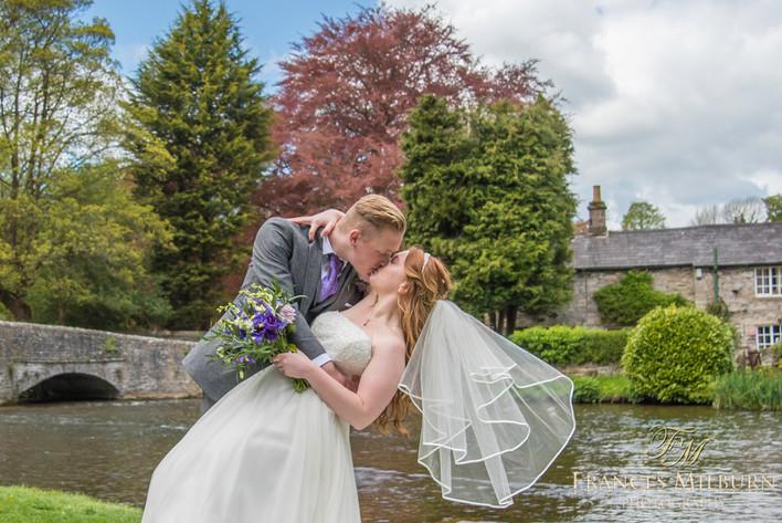 Riverside House Hotel Wedding Photography, Bakewell