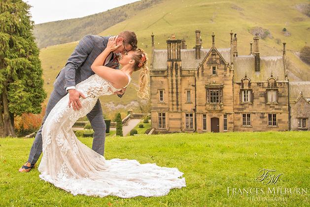 Cressbrook Hall Wedding Photographs