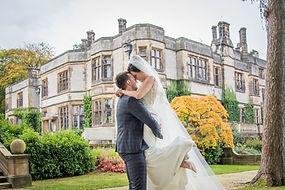 Wedding photographer Thornbridge Hall, Derbyshire