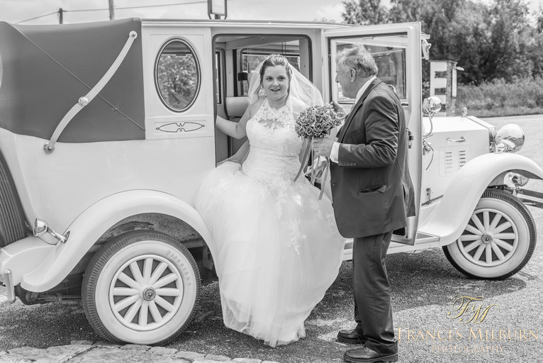 Wedding Photography on Pudding Pie Hill, Chesterfield