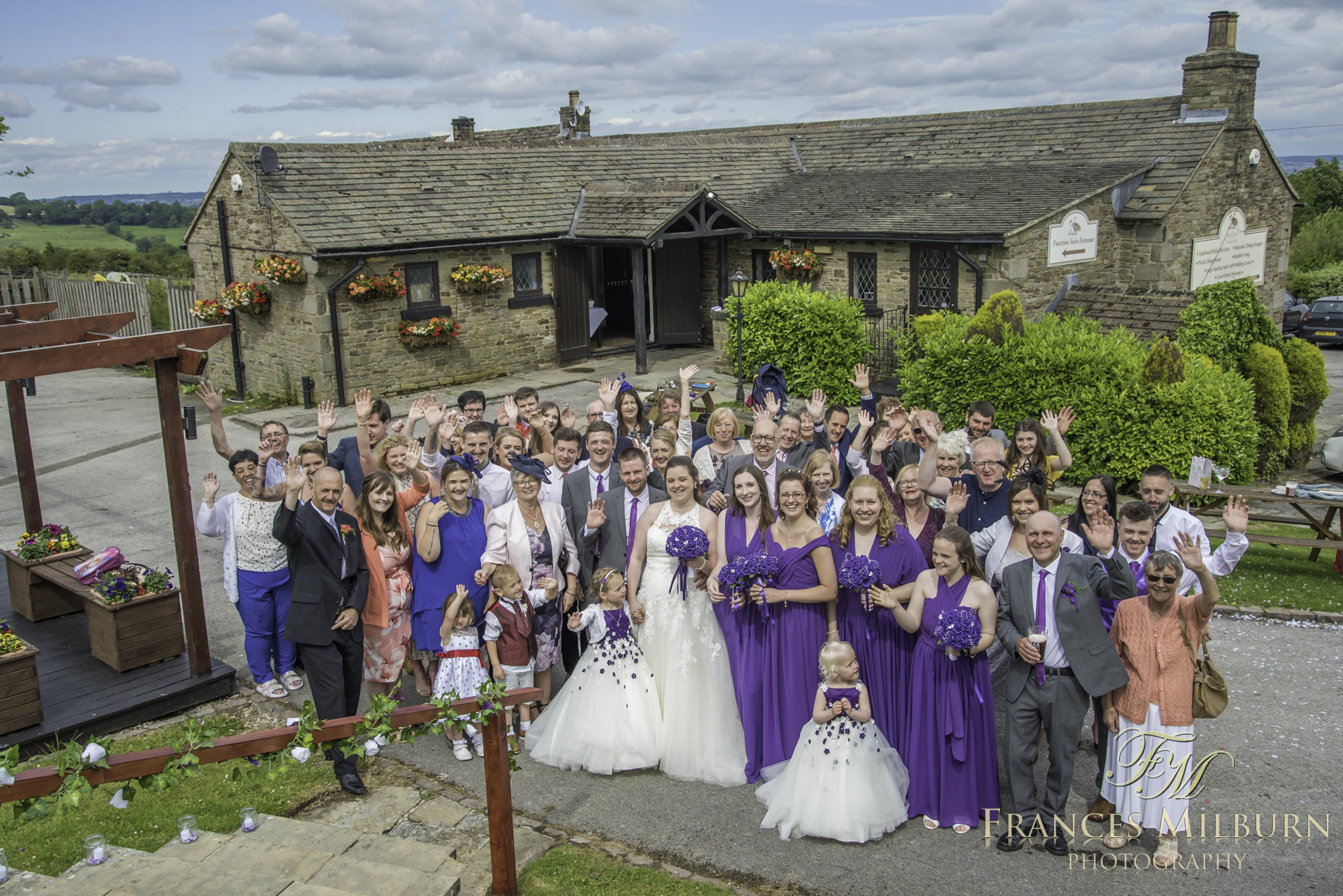 The Fox and Goose Wedding Photography, Derbyshire