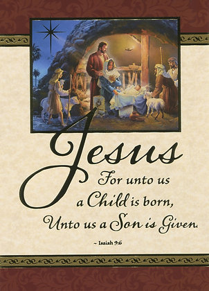 Christmas Greeting Card - With Novena CA-19B