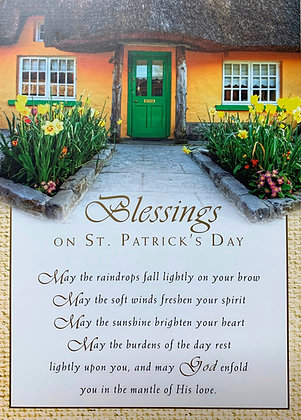 St Patrick's Day Blessings SP-14B