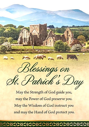 Blessings on St. Patrick's Day With Novena SP-21A
