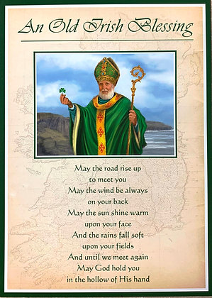 An Old Irish Blessing With Novena SP-20A