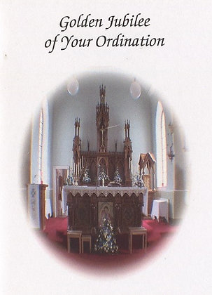 Golden Jubilee - 50th Ordination Anniversary