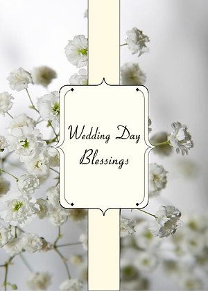Wedding Day Blessings