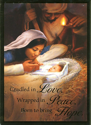 Christmas Greeting Card - With Novena CA-19A