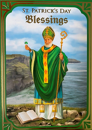 St Patrick's Day Blessings SP-18A