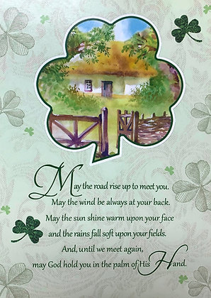 St Patrick's Day Blessings SP-18B