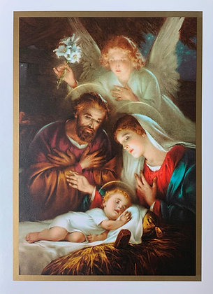 Christmas Greeting Card - With Novena CA-13A