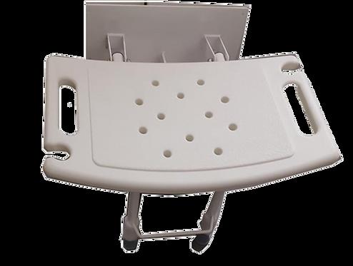 כסא למקלחת צמוד קיר