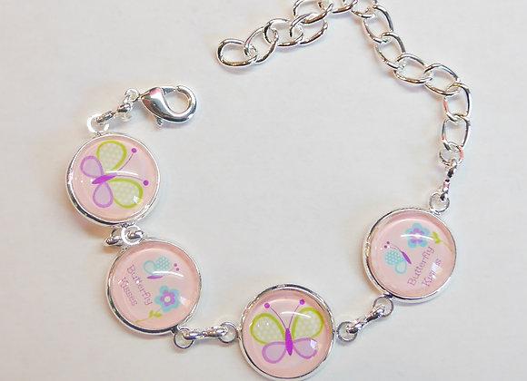"""Bracelet enfant """"papillons"""""""