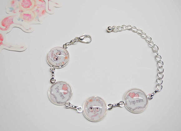 "Bracelet enfant ""fillette"""