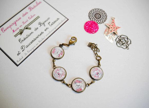 "Bracelet enfant ""petites betes"""