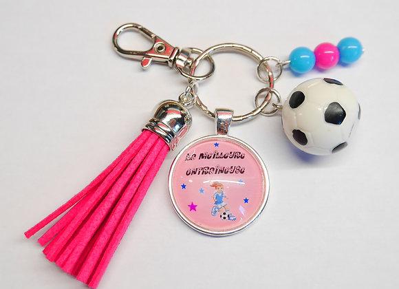 Porte clé cadeau entraineur, prof , coach de foot