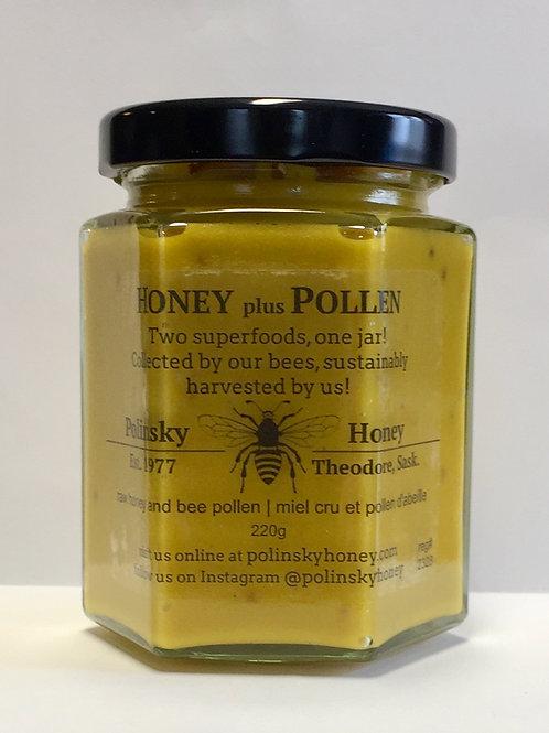 Honey plus Pollen