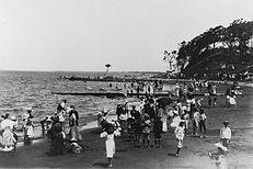 Shorncliffe 1907 New Year's Day - State