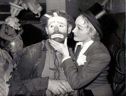 Willie with Marlene Dietrich