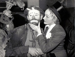 Willie with Marlene Dietrich