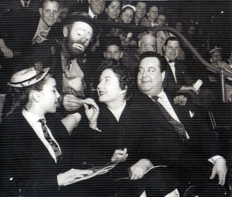 Willie with Jackie Gleason