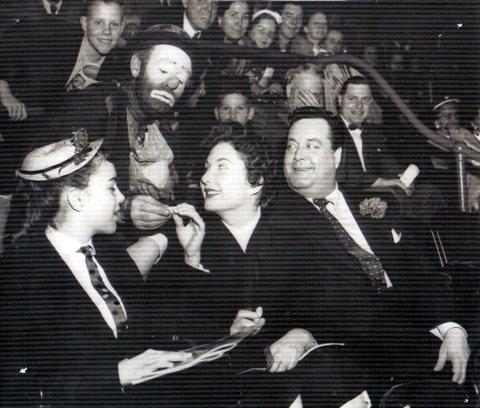 Willie with Jackie Gleason