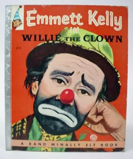 Emmett Kelly The Clown Cover