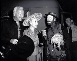Willie with Hopalong Cassidy