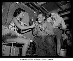 Emmett & Felix Adler, Seattle 1955