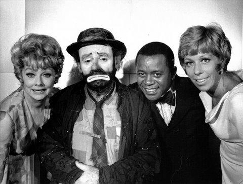 Lucille Ball, Willie, Flip Wilson and Carol Burnett