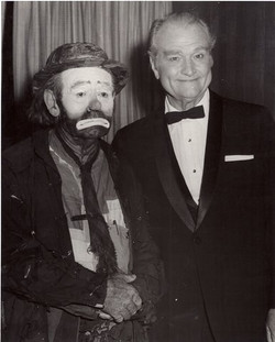 Emmett with Red Skelton
