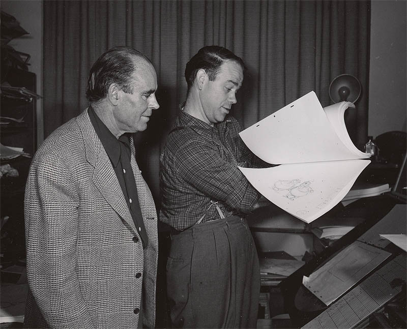 Emmett with Ward Kimball