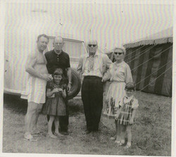 Emmet's family, Bill Pringle & Clyde Beatty