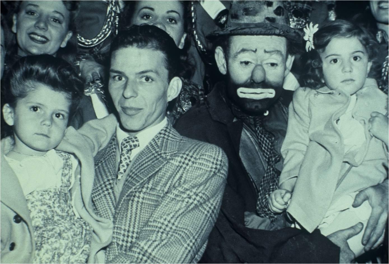 Emmett with Frank Sinatra