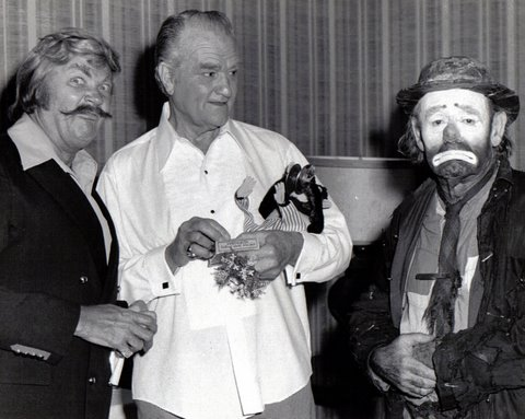 Rip Taylor, Red Skelton and Willie