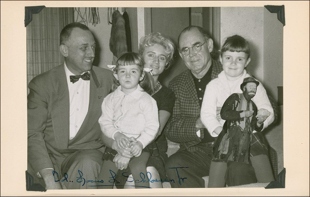 Family with Col. Louis Schlossen, Jr.