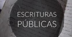 Escrituras Públicas
